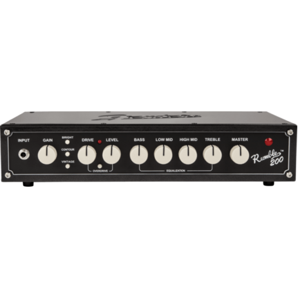 Fender Rumble 200 Bass Amp Head (V3) 200-Watts