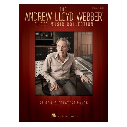 Andrew Lloyd Webber Sheet Music Collection Piano/Vocal/Guitar