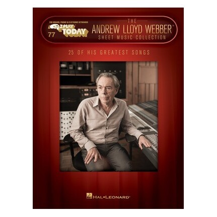 Andrew Lloyd Webber Sheet Music Collection Piano