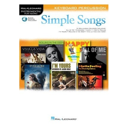Simple Songs For Keyboard Percussion Bk/Online Audio
