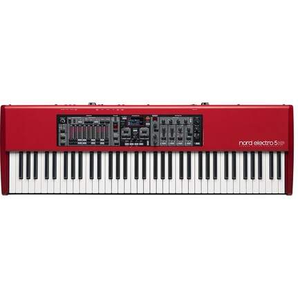 Nord Electro 5 HP 73-Key Hammer Action Portable Stage Keyboard Red Finish