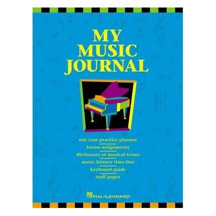 My Music Journal Student Assignment and Planner Book