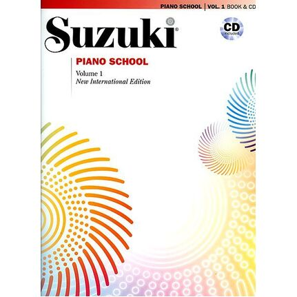 Suzuki Piano School Vol 1 BK/CD New International Edition