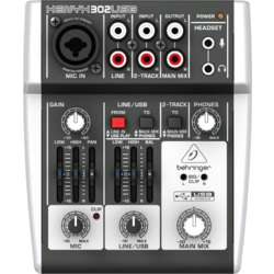 Behringer 302Usb 5 Channel  Mixer