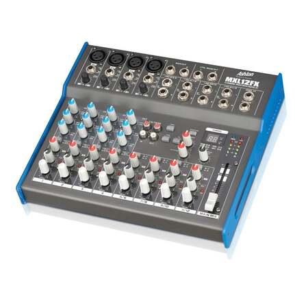 Ashton Mxl12Fx 12 Channel Mixer W/Usb