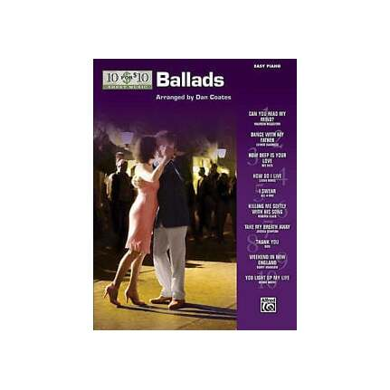 10 For 10 Sheet Music Ballads for Easy Piano