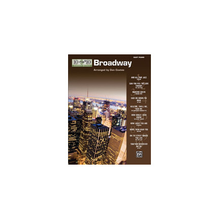 10 For 10 Sheet Music Broadway for Easy Piano