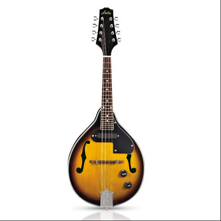 Ashton Mde200 Mandolin Acoustic-Electric With Pickup & Case A-Style, Spruce Top