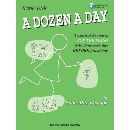 A Dozen a Day Book 1 Bk/ola