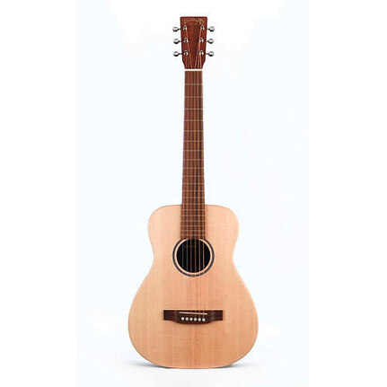 Martin LX1L: Little Martin Acoustic Guitar Left Handed Guitar