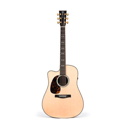 Martin DCPA1L: PA Series Grand Performance Dreadnought Left Hand Acoustic/Electric Guitar With Pickup