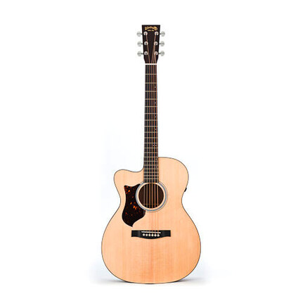Martin OMCPA4L: PA Series Orchestra Left Hand Acoustic/Electric Guitar With Pickup