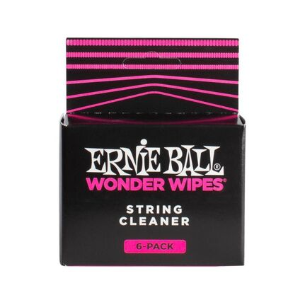 Ernie Ball 4277 Wonder Wipes String Cleaner 6 Pack