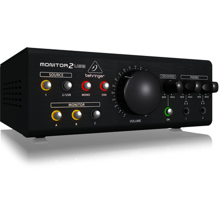 Behringer Monitor2USB Headphone Monitoring Controller