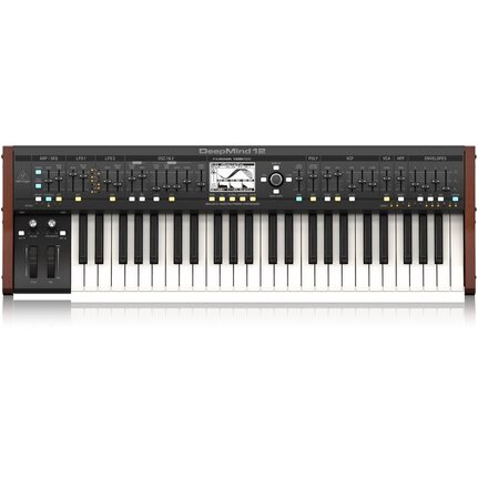 Behringer Deepmind 12 Polyphonic Synthesizer Keyboard 12-Voice 49-keys