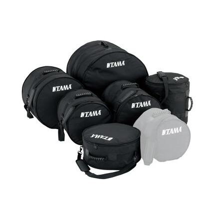 Tama Dsb62S Rock Bag Set (10/12/14/16/22) 6-Piece Drum Soft Bags