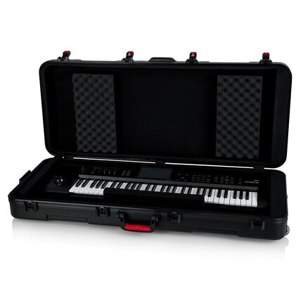 Gator GTSA-KEY61 Molded 61-Key Keyboard Case w/ Wheels