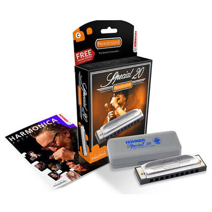Hohner Special 20 Diatonic Harmonica - Key of D