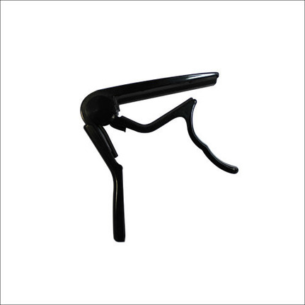 Ashton CP3 Classical Guitar Capo Suitable for Flat Fingerboards Black Finish