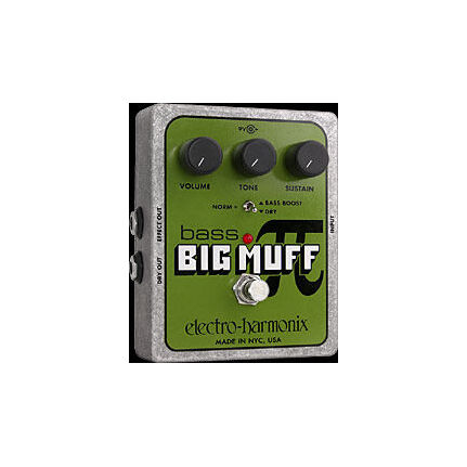 Electro Harmonix Bass Big Muff Pi Fx Effects Pedal