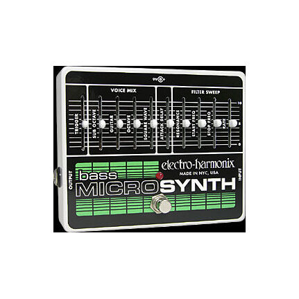 Electro Harmonix Bass Microsynth Fx Effects Pedal
