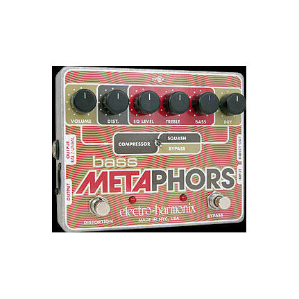 Electro Harmonix Bass Metaphors Fx Effects Pedal