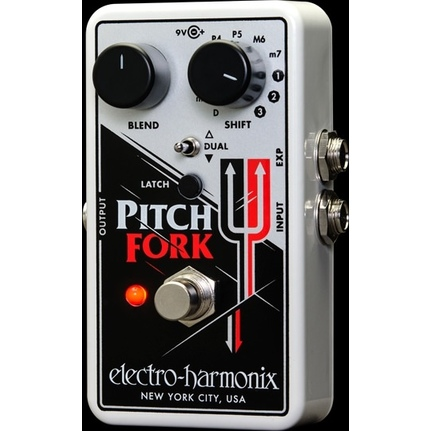 Electro Harmonix Pitch Fork Polyphonic Pitch Shifter Effects Pedal