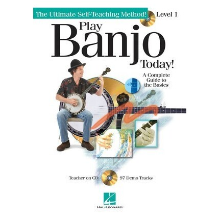 Play Banjo Today Method Book Level 1 BK/CD