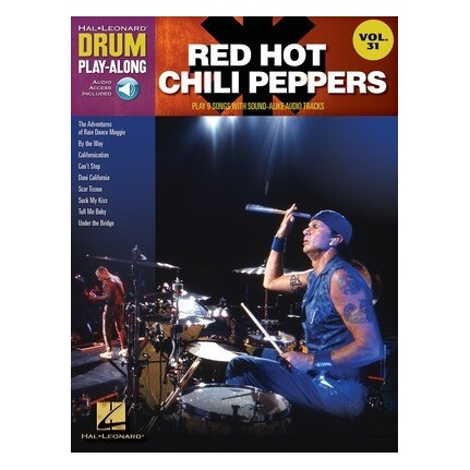 Red Hot Chili Peppers Drum Play Along Bk/CD Vol31