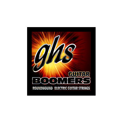 GHS Gbm (11-50) Medium Boomers Electric Guitar 6-String Set