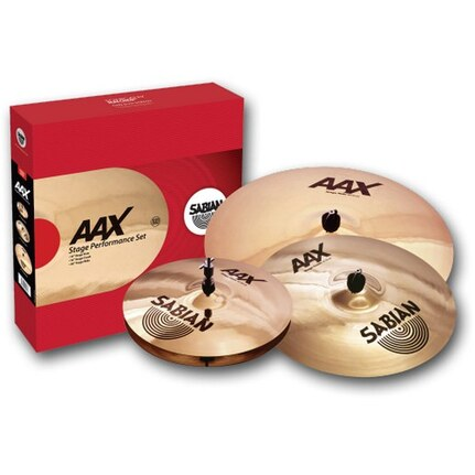 Sabian Aax Stage Performance Cymbal Boxed Set Package
