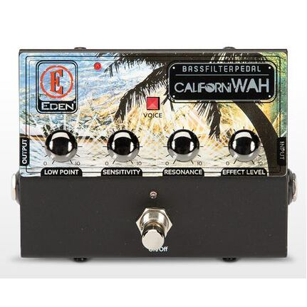 Eden CaliforniWAH Professional Bass Filter Pedal