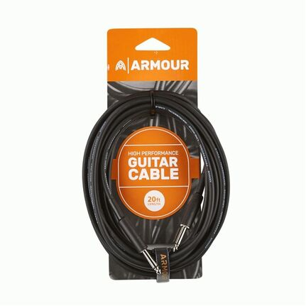 Armour GP20 HP 20ft Guitar Cable