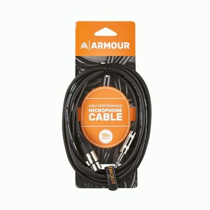Armour CJP10 HP XLR Jack Cable 10ft