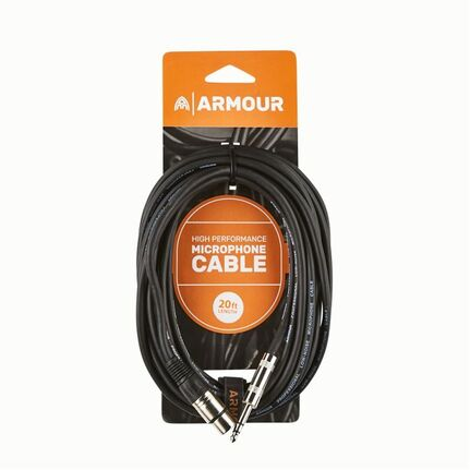 Armour CJP20 HP XLR Jack Cable 20ft