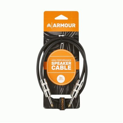 Armour SJP3 Jack Speaker Cable 3ft