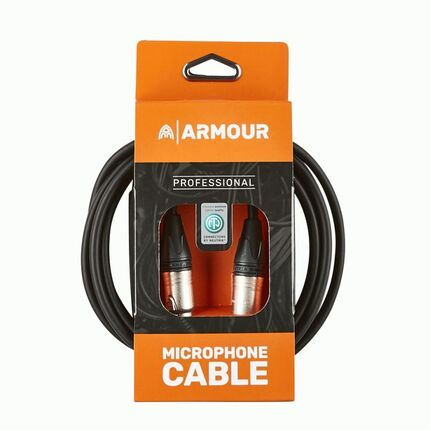 Armour NXXP10 10ft Neutrik XLR to XLR Microphone Cable