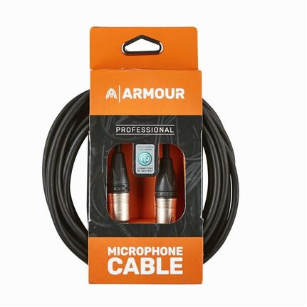Armour NXXP20 20ft Neutrik XLR to XLR Microphone Cable