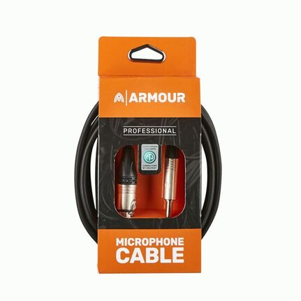 Armour NXLP10 10ft Neutrik XLR to Jack Microphone Cable