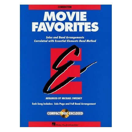 Essential Elements Movie Favorites Conductor Bk/CD