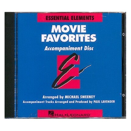 Essential Elements Movie Favorites CD