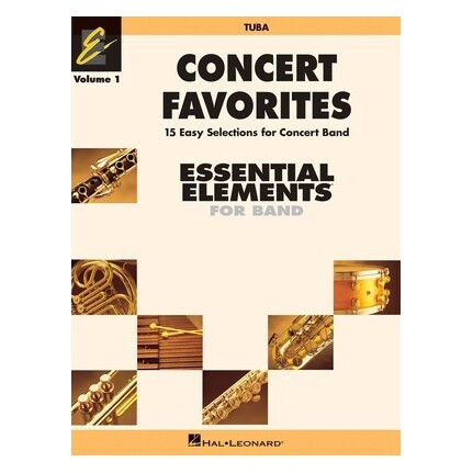 Essential Elements Tuba Concert Favorites Vol 1