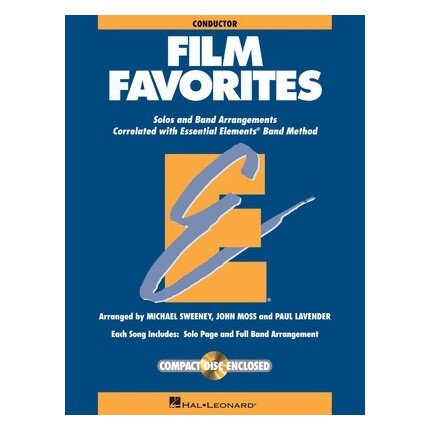 Essential Elements Conductor Film Favorites Bk/CD