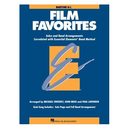 Essential Elements Baritone BC Film Favorites