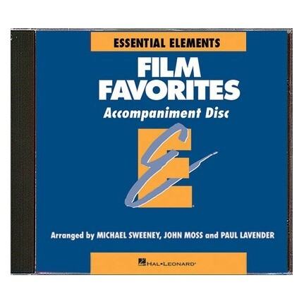 Essential Elements Film Favorites Accompaniment CD