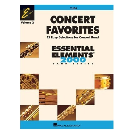 Essential Elements Tuba Concert Favorites Vol 2