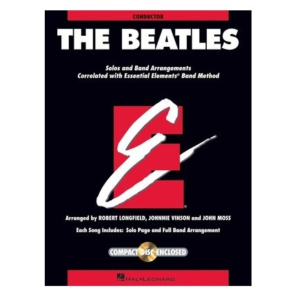 Essential Elements The Beatles Conductor Bk/CD