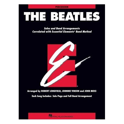 Essential Elements The Beatles Percussion