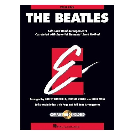 Essential Elements The Beatles Value Pack Bk/CD