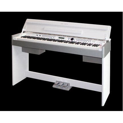Beale AURORA4000WH 88-Key Weighted Digital Piano w/Cabinet White